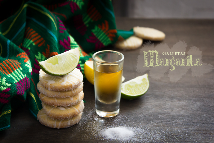 Galletas Margarita al estilo de Mexico