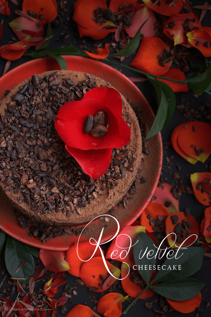 El mejor Red Velvet Cheesecake Ever