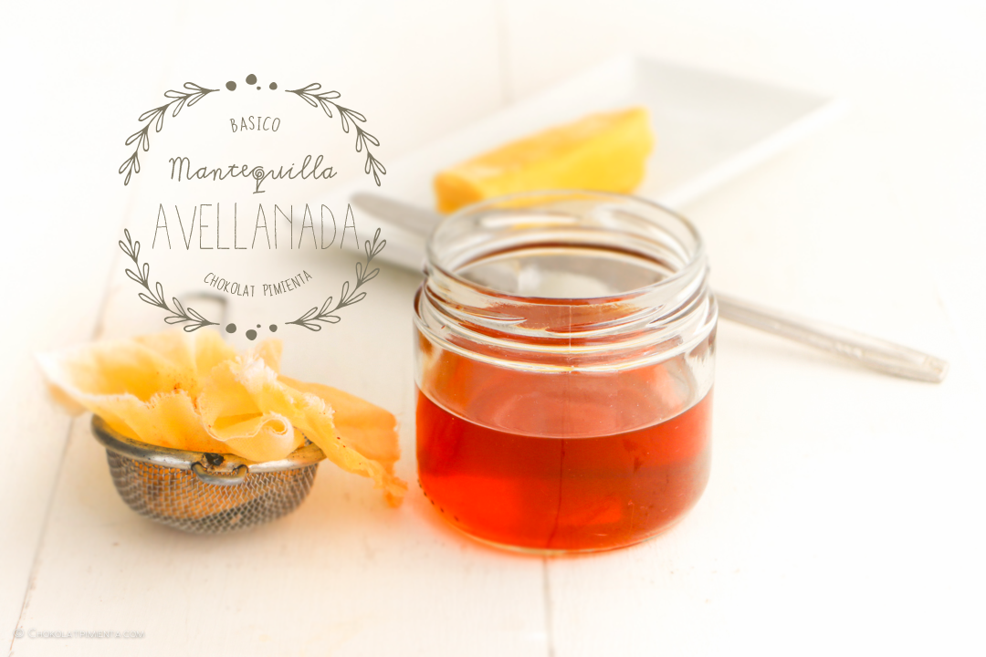Mantequilla Avellanada – Beurre noisette