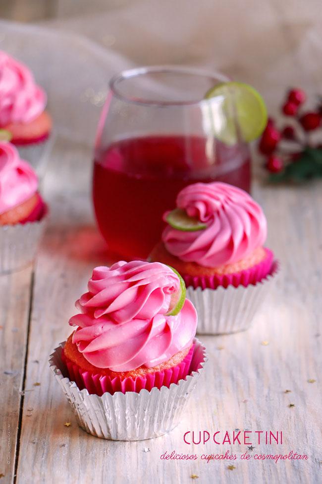 cupcaketini cupcakes de cosmopolitan