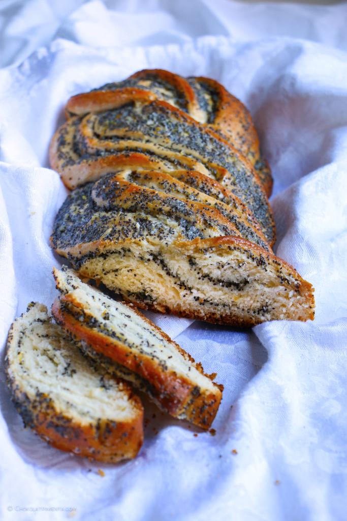 pan de citricos y semillas de amapola