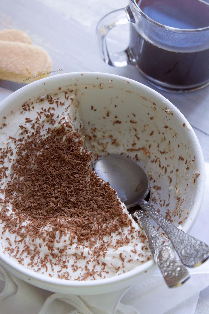 trifle de tiramisu