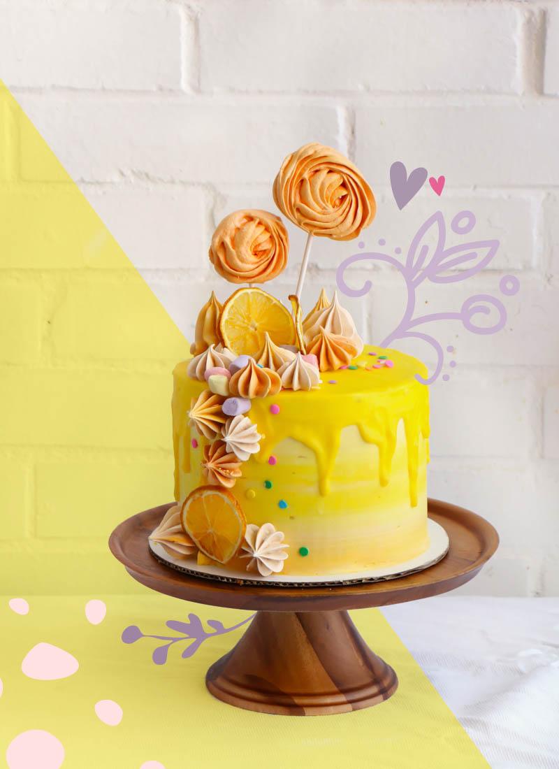 Curso Pastel de naranja y agua de azahar|chokolatpimienta.com