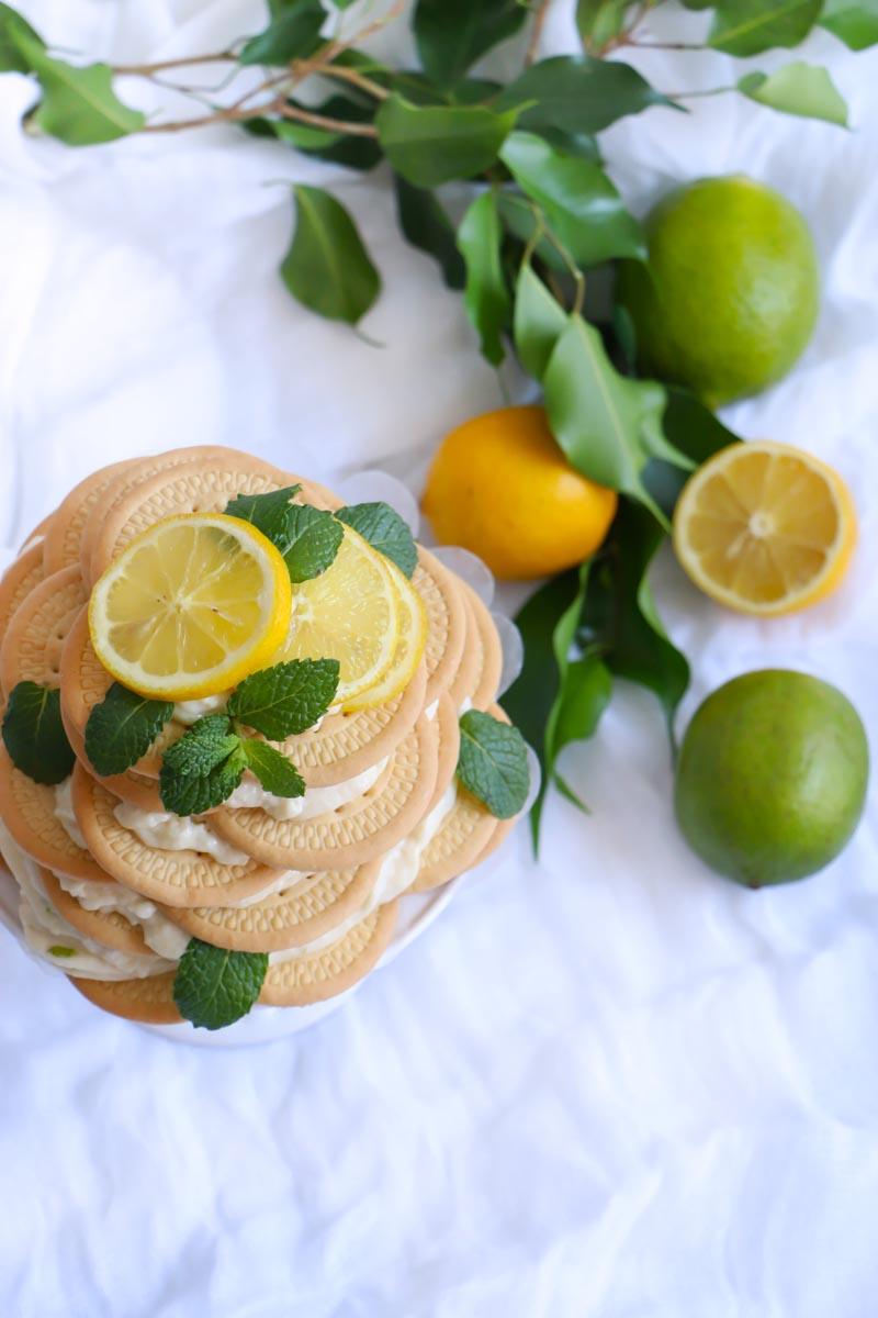 Fácil carlota de limón |chokolatpimienta.com