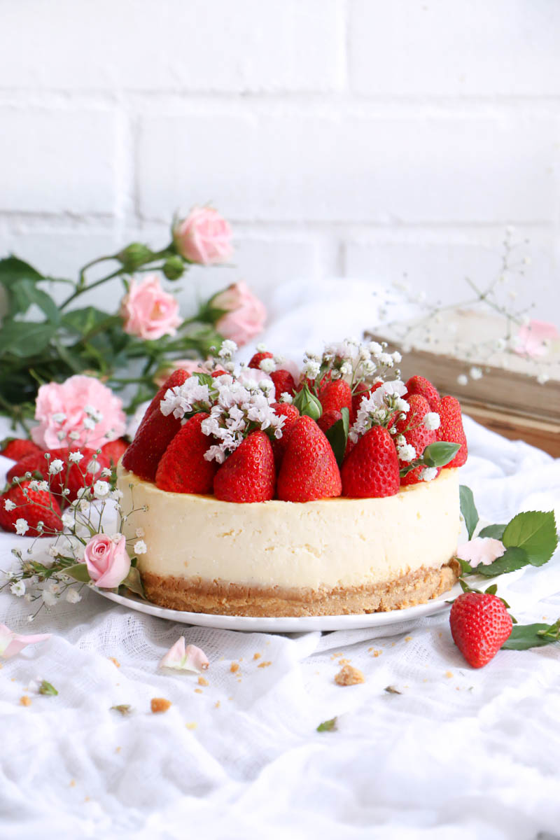 cheesecake clasica |chokolatpimienta.com
