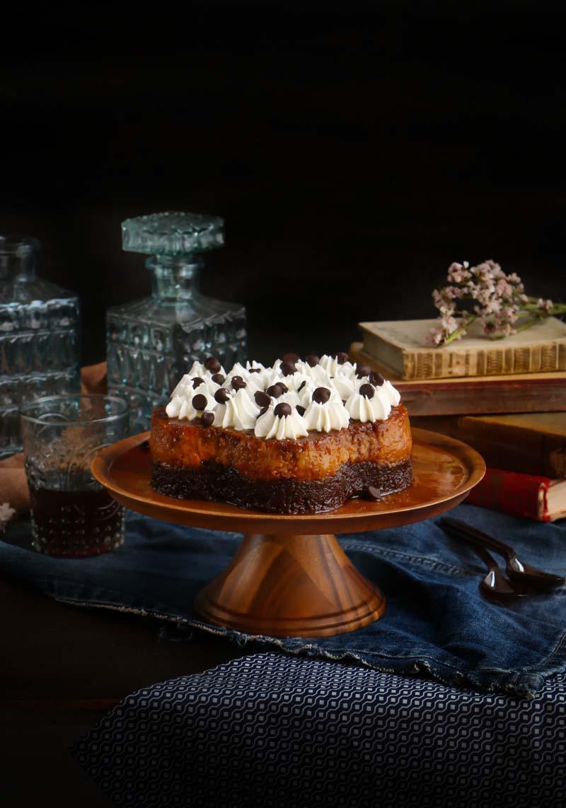 pastel imposible o chocoflan|chokolatpimienta.com