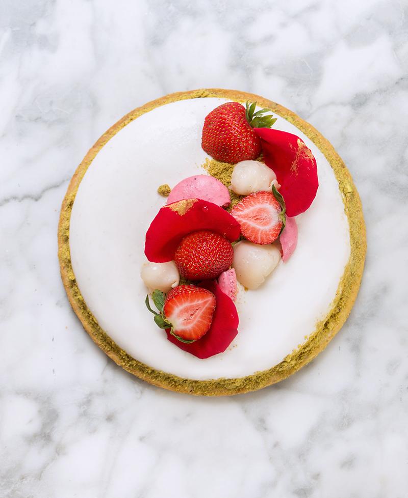 Love Ispahan Cheesecake - chokolat pimienta
