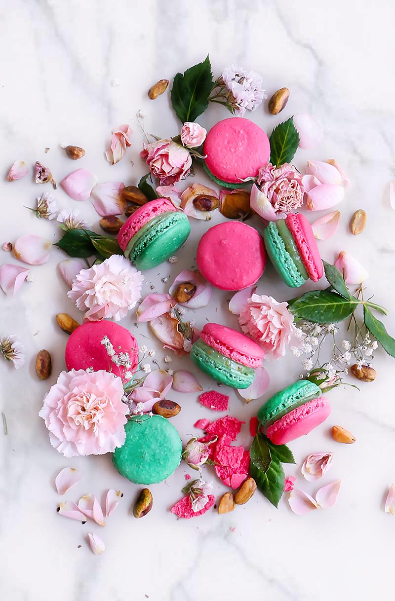 pistacho rosas- chokolat pimienta