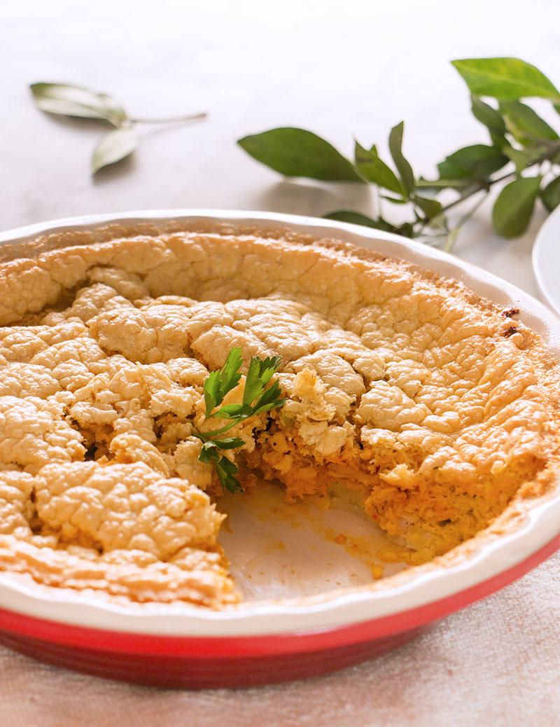 pastel de cazon o pescado