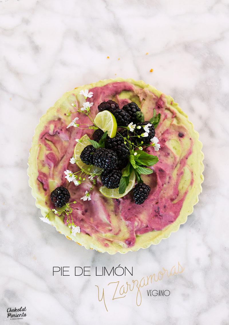 pie de limón y zarzamoras vegano-1