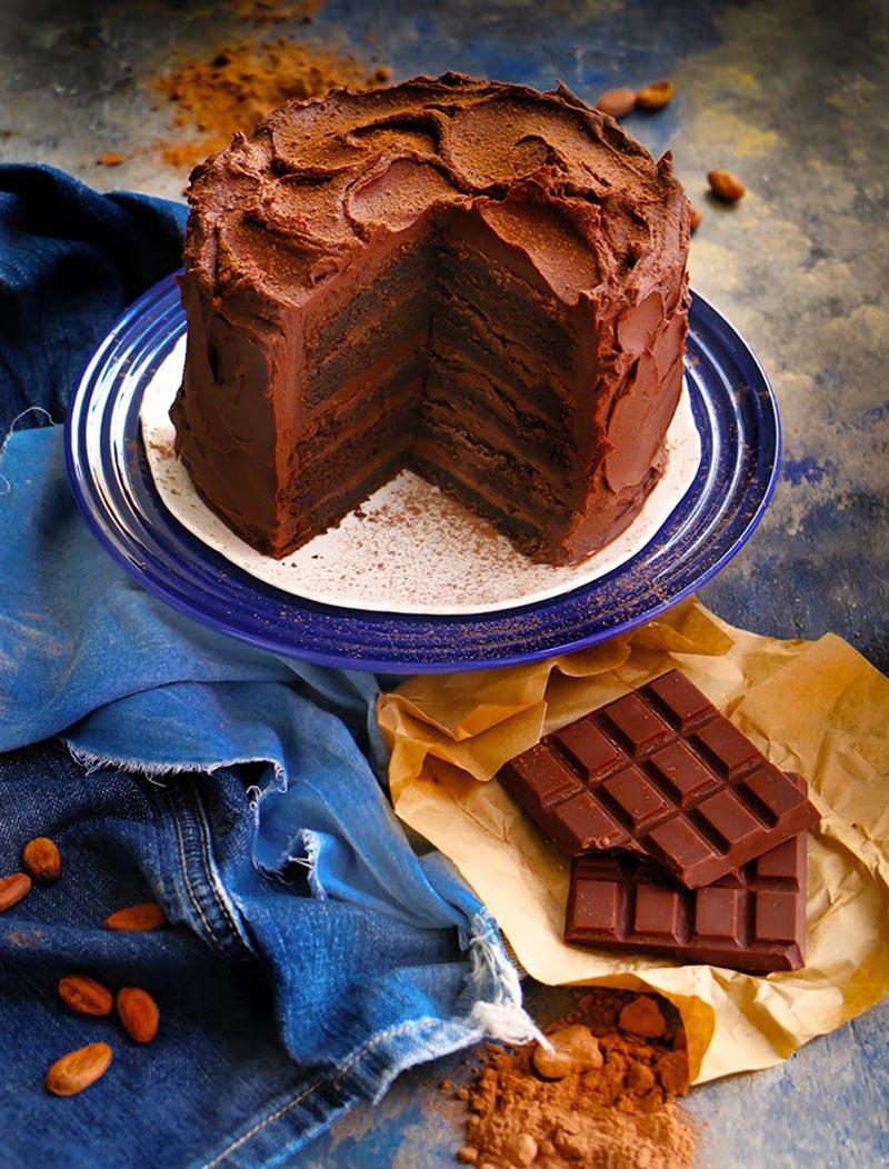 pastel Muerte por Chocolate-3